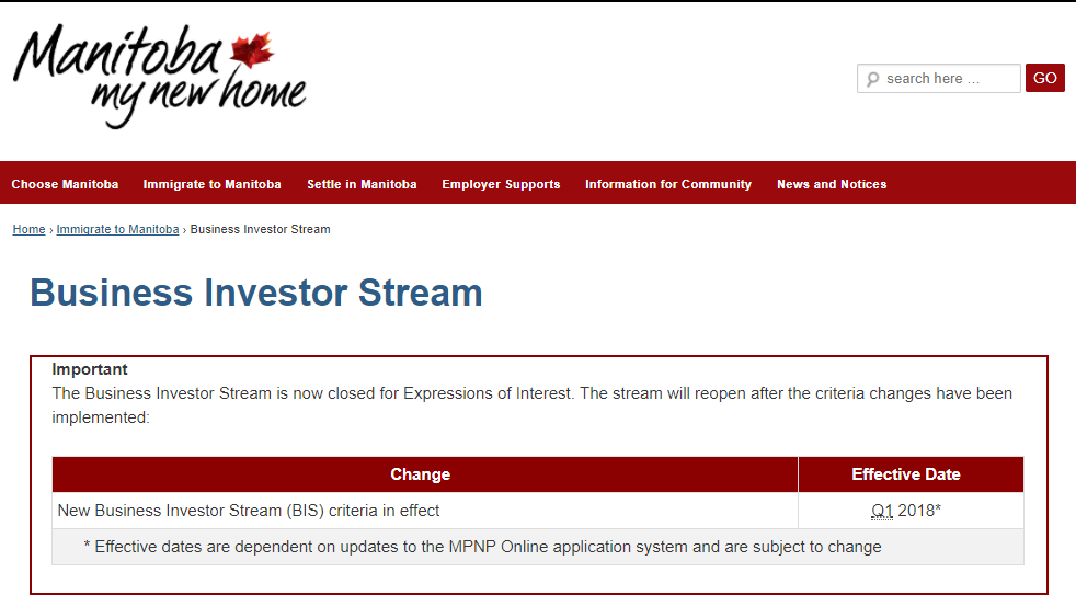 business investor stream