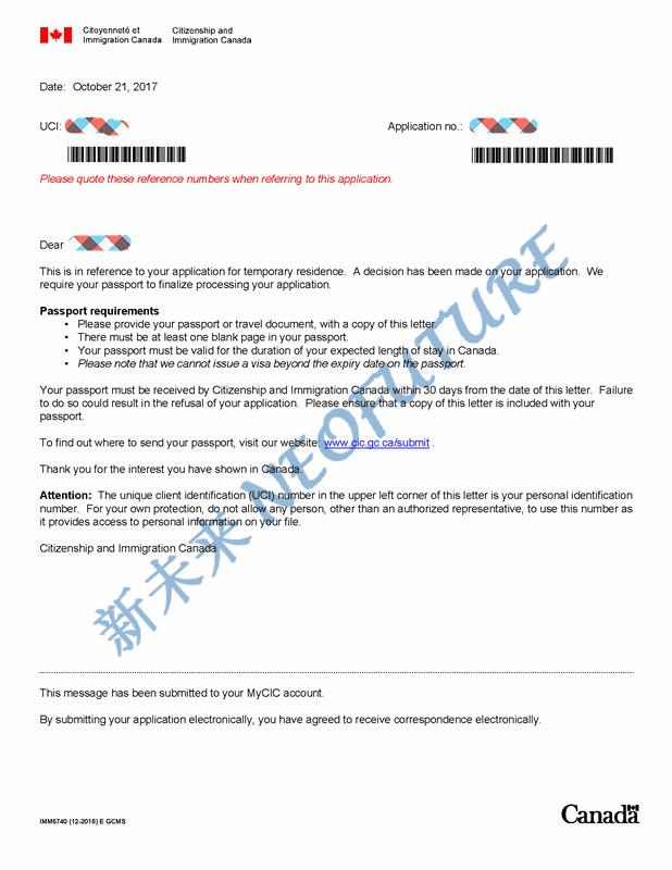 passport notice zhang sy